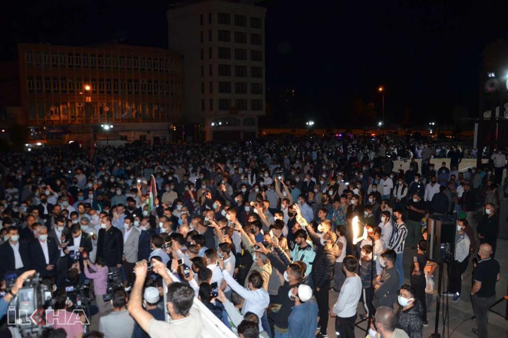 Adana'da ABD Konsolosluğu önünde Mescid-i Aksa eylemi